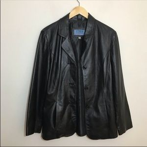 Xtrem Outerwear Leather Collection Jacket/Blazer